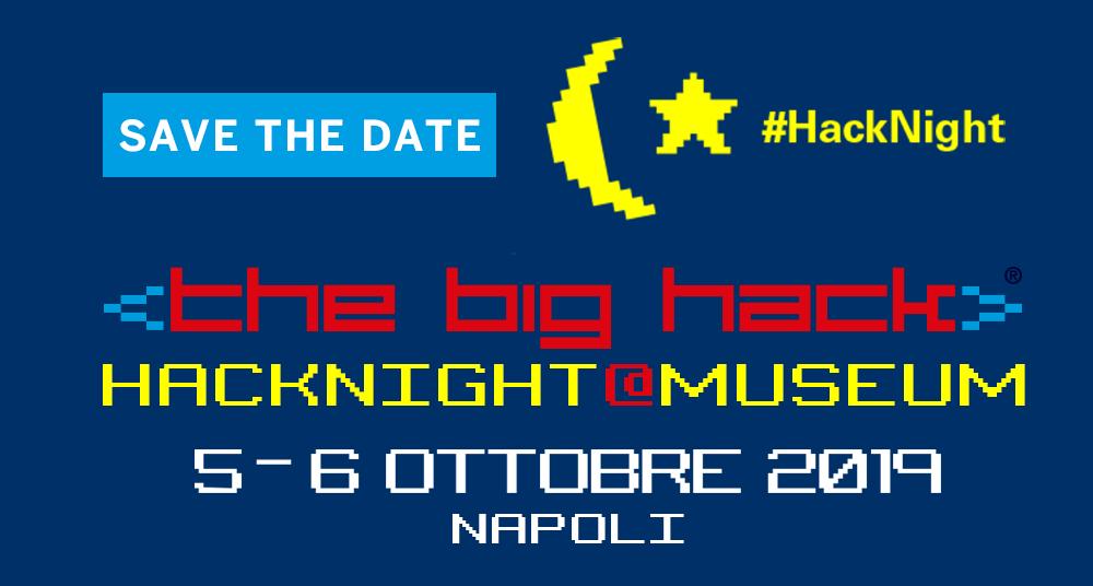 Hacknight 5-6 ottobre 2019